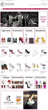 Charity Heels Online-Portal