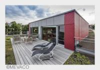 Hausfassade aus MEVACO Streckmetall Raute 110x52x24, Aluminium (Bildquelle: MEVACO)