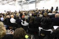 Das Vortrags-Forum der wmm ist meist voll und die Besucher lassen sich gerne inspirieren.