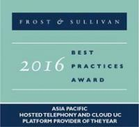 BroadSoft wird von Frost & Sullivan als Asia Pacific Hosted Telephony and Cloud UC Platform Provider of the Year 2016 geehrt