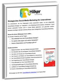 Whitepaper: Strategisches Content Marketing von Hilker Consulting