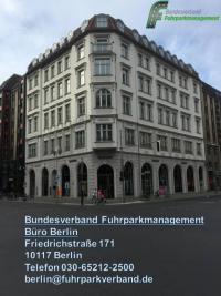Fuhrparkverband jetzt mit Präsenz in Berlin