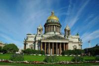 Isaak Kathedrale  in St. Petersburg: Viel Kunst in der russischen Kunstmetropole
