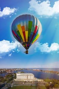 Im Vorfeld kann über die Homepage ballonmeeting.com eine Ballonfahrt reserviert werden. (Bildquelle: Ballonmeeting Wilhelmshaven.)