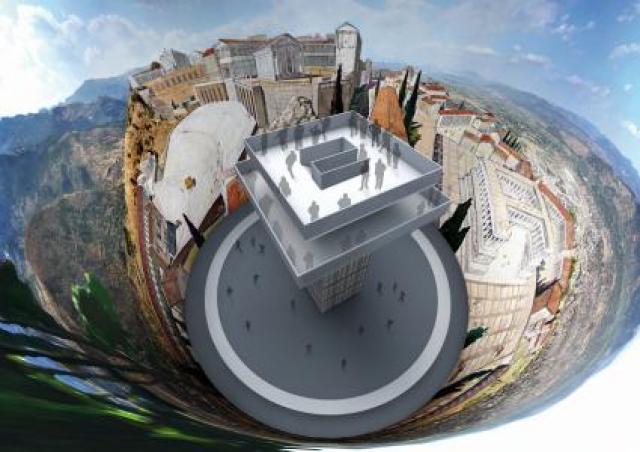 """PERGAMON - Panorama der antiken Metropole"""" von Yadegar Asisi im Asisi"""