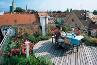 Для скатных крыш такой порядок естествен, но на эксплуатируемой плоской крыше положенная сверху гидроизоляция...