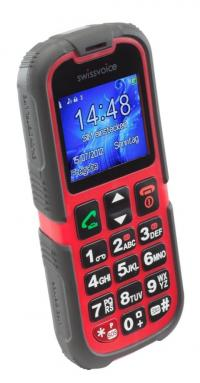 Swissvoice SV39 das robuste Outdoor-Handy