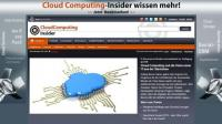 Screenshot des neuen Insider-Portals CloudComputing-Insider.de