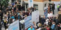 Gro�es Interesse an der Sch�lerAustausch-Messe (Foto: Deutsche Stiftung V�lkerverst�ndigung)