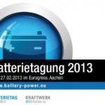 Batterietag.NRW und Fachtagung Kraftwerk Batterie: Die Batteriewelt trifft sich in Aachen!