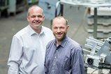 Felix und Peter Thürlings: neue Inovationen überzeugen