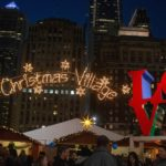 Philadelphia schmückt sich für Weihnachten