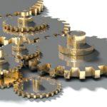 Gehärtete Zahnräder & Getriebe (Bildquelle: Creative Commons CC0)
