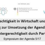 Gendergerechtigkeit in Wirtschaft und Politik als Beitrag zur Umsetzung der Agenda 2030
