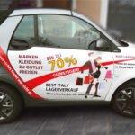 Fahrzeugbeschriftungen von der Werbeagentur inter.medial