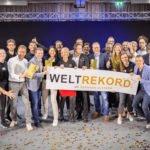 Weltrekord bei Hermann Scherer mit Jens Neubeck und Pascal Schildknecht