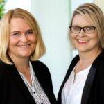Die beiden Geschäftsführerinnen Sandra Rogge und Christina Vredenburg definieren Unternehmenskommunikation als wichtige Basis