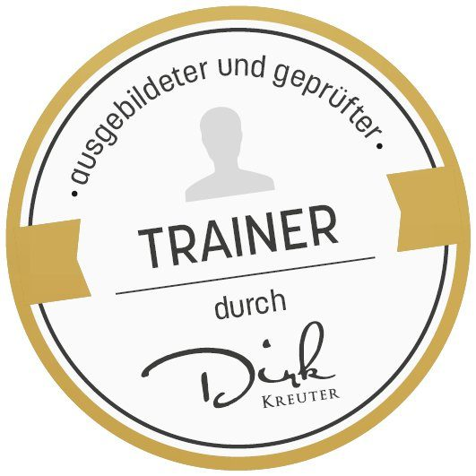 Lars Jordan zertifiziert durch Train the Trainer by Dirk Kreuter
