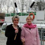 Die Referentinnen Susanne Kirchhof und Sigrid Heyl