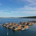 Get-away der Extraklasse: Im Floating Village Brombachsee das ganze Jahr die perfekte Auszeit nehmen (Bildquelle: Eco Lodges)