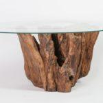 Tisch aus Wurzelholz
