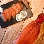 Schottischer Räucherlachs - Der mit roter Kordel- sanft geräuchert