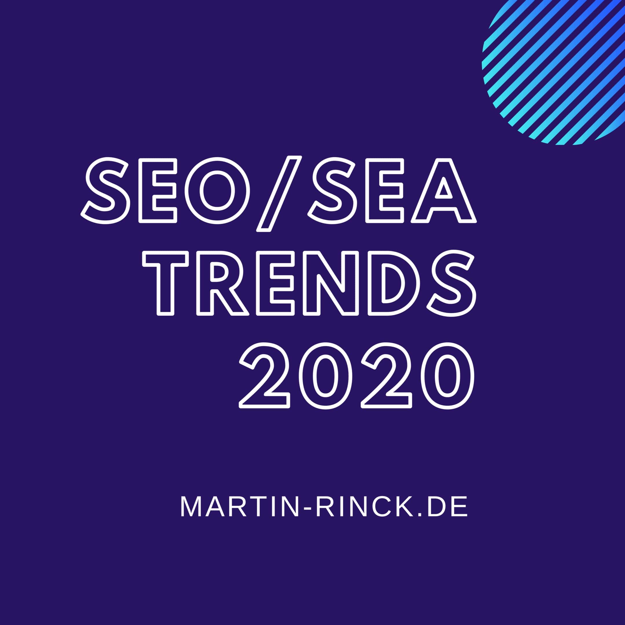 SEO/SEA-Trends 2020
