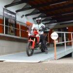 Reutlingen. myStorage weiht spezielle Abstellplaetze für die Ueberwinterung von Motorraedern ein