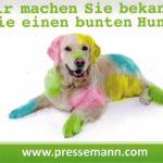 Pressemann bunter Hund