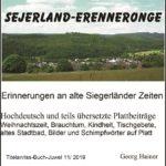 Titelausschnitt des neuen Siegerland-Buches. (Repro: Presseweller)