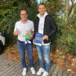 David Depenau und Manuel Neuer (Bildquelle: Ferien- und Freizeitpark Weissenhäuser Strand)