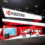 Der Kyocera Stand auf der CES 2020