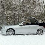 SmartTOP für Infiniti G37/Q60 Cabrio ermöglicht Verdeckbedienung während der Fahrt