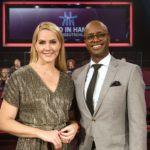 Judith Rakers und Yared Dibaba moderieren den großen Spendenabend im NDR Fernsehen _ Verwendung honorarfrei (c)NDR