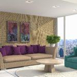 Desima Stofftapeten - klassische Eleganz für die Wand jetzt bei Decowunder