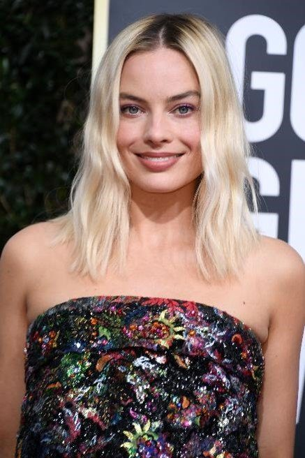 Margot Robbie with hair by Moroccanoil Celebrity Hairstylist Bryce Scarlett (Bildquelle: @Valerie Macon)