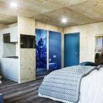 Eröffnung eines einzigartigen Motels aus Raummodulen