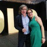 Top Speakerin Carina Frei mit Mentor Hermann Scherer (Bildquelle: Dominik Pfau)