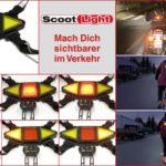 Das innovative Sicherheits-System Scoot Light für Motorrad