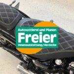 Die Autosattlerei Freier hat sich auch als Motorradsitzbank-Polsterei einen guten Ruf erarbeitet.