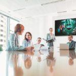 Philips PDS bietet mit der B-Line modernste Kommunikationsmöglichkeiten für Meeting-Räume