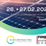Sun Contracting AG auch 2020 wieder am FONDS professionell KONGRESS in Wien
