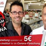 Keine Chance für Corona - schuhplus startet Spendenaktion