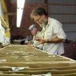Bohrkerne vom Stillwater West-Projekt; Foto: Group Ten Metals