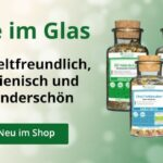 Neu im AURESA Onlineshop: ab sofort auch Tee in dekorativem und umweltschonendem Glas