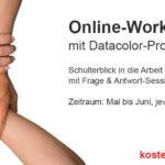 Kostenlose Online-Workshopserie mit Datacolor Profifotografen