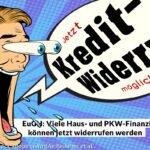 Millionen private Kreditverträge widerrufbar?  EuGH stärkt Rechte privater Kreditnehmer und besorgt Banken