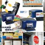 Brady BBP37 + BBP85 Farbdrucker für farbige Sicherheits-Kennzeichnungen