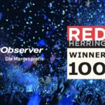 Die Margenprofis des CarObserver sind Gewinner des Red Herring Top 100 Europe Awards 2020