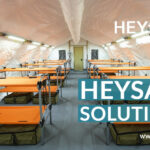 Covid-19: Heytex bietet breites Portfolio für Schutz an: Materialien für Masken, Bekleidung, Betten, Matratzen, Schleusen, Tanks, Zelte uvm